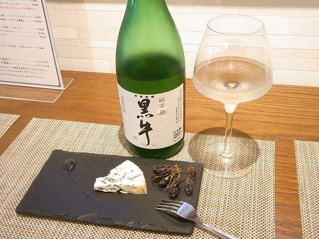 カゼウス - チーズに合う日本酒と日本酒に合うチーズで¥850☆♪