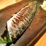 裏椿 - 炙り〆鯖