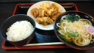 こんぴら亭 本店 - 『とりから定食』930円