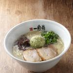 イップウドウ ラーメンエクスプレス - 料理写真:静岡SA店限定!わさび豚骨 820円(込)※期間限定