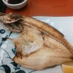 網元満平 平かわ - 焼き魚(アラ)