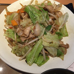 やよい軒 - 肉野菜炒め 2015.06