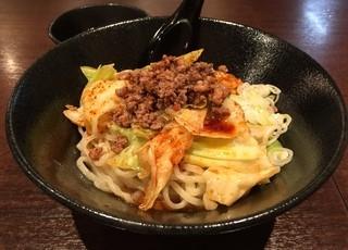 麺喰屋 Senmi - 汁なし担々麺・大盛り