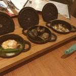 牡蠣と地中海料理 ALEGRIA - アヒージョ(・д・`●)