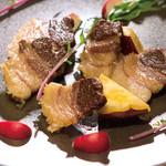 南あわじ美食農園オリザ - 熟成塩漬け淡路猪のグリル