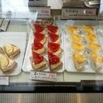 サフラン洋菓子店 - 店内