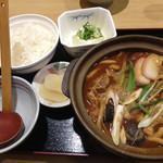 39066257 - 味噌煮込みうどん定食 900円
