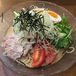 昌平ラーメン 新宿西口店 - 胡麻冷やし 700円