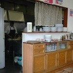 ザイカ・カレーハウス - 店内から厨房