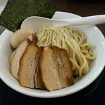 自家製麺ばくばく - 【2015/6】チャーシュー、つけ麺アップ