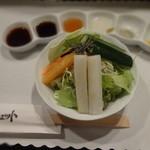 ブロシェット - 料理写真:サラダ