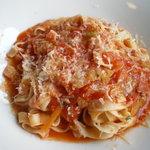 マーレ・デッラ・パッスィオーネ - 野菜のトマト煮込みパスタ