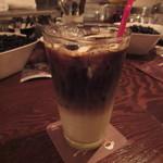 ミンガスコーヒー - アイスカフェオレ 650円
