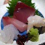能登輪島 - のど黒入り鮮魚盛り合わせ