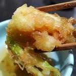 能登輪島 - 揚巻海老と夏野菜天ぷら