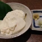 手打そば くりはら - 幻のすくい豆腐!