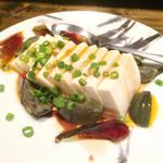 安晏 - ピータン豆腐