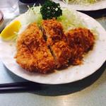 グリルおおくぼ - チキンカツ定食