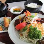 レストラン 清流 - 料理写真:日替わり定食 肉団子650円