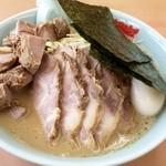 39080186 - 醤油ネギチャーシュー麺+ネギ+チャーシュー+味付け玉子