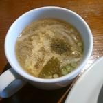 39081474 - ランチのスープ