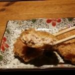 39081990 - 鶏つくね揚げはジューシー