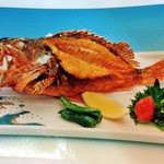 魚料理 常陸 - 料理写真:かさごから揚げ