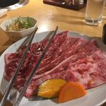 鶴橋ホルモン本舗 - dewaさんの焼肉セット200gこれ1600円!驚愕!