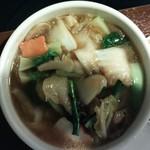 唐朝刀削麺 - 旨煮野菜の刀削麺(数量限定)