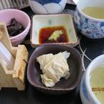 武州屋 - 料理写真:湯葉&わさびしいたけ
