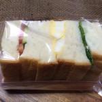 ポンパドウル - プチサンド ポテト、タマゴ、野菜¥237