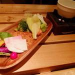 菜園バル CHIBI-CLO - 菜園バーニャカウダ