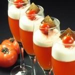 神戸豚と産直野菜バル CACHETTE - トマトのジュレ