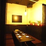 神戸豚と産直野菜バル CACHETTE - 半個室