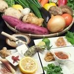 神戸豚と産直野菜バル CACHETTE - やくみ盛り合わせ