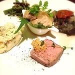 神戸豚と産直野菜バル CACHETTE - 前菜5種