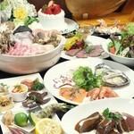 神戸豚と産直野菜バル CACHETTE - 富士山溶岩鍋コース