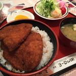 39090982 - ソースカツ丼定食