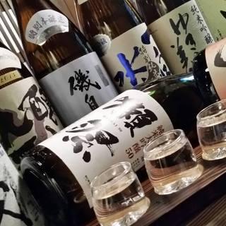 季節ごとに銘柄が替わる!プレミアム日本酒
