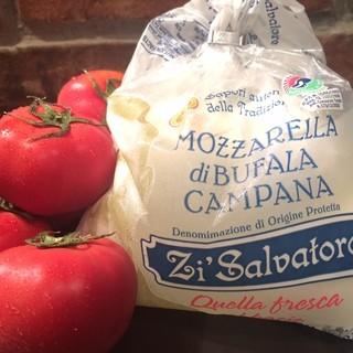 水牛の乳のみを使用した濃厚モッツァレッラチーズ♪