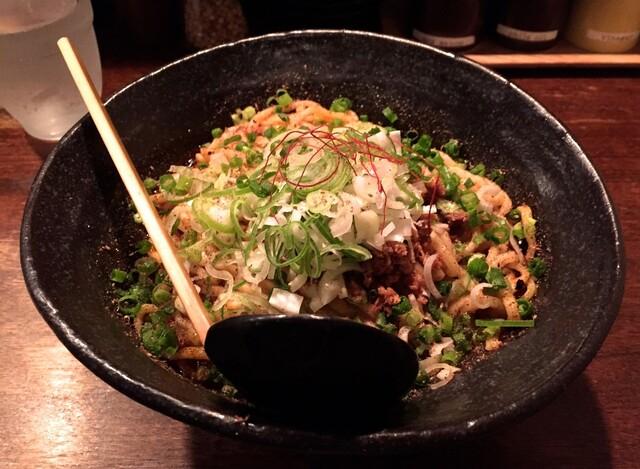 うさぎ - 汁無し担々麺2辛・大盛