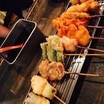 肉丸苑 - 串揚げ10本