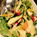 Agito - 彩どり野菜のサラダ@680円
