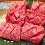 肉のきっしゃん - 今日の厚切りタン