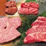 肉のきっしゃん - 初めの3品