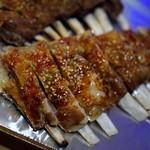 東京穆斯林飯店 - 羊スペアリブのスペイン焼き