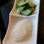 天丼の岩松 - 大根おろし美味し。