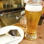 オコノミヤキグッド - 2014年12月 生ビール中【451円】