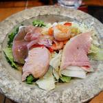 K. - ランチセットのサラダ
