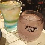 ゆいま~る食堂  - グラスかわいぃ ロックで白百合